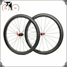 50mm Clincher Straight Pull carbon wheels racing road bike wheelset for DT Swiss 240S Hubs(China)