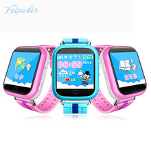 GPS smart watch Q750 Q100 baby watch with Wifi 1.54inch touch screen SOS Call Location Device Tracker for Kid Safe PKQ60 Q80 Q90(China)