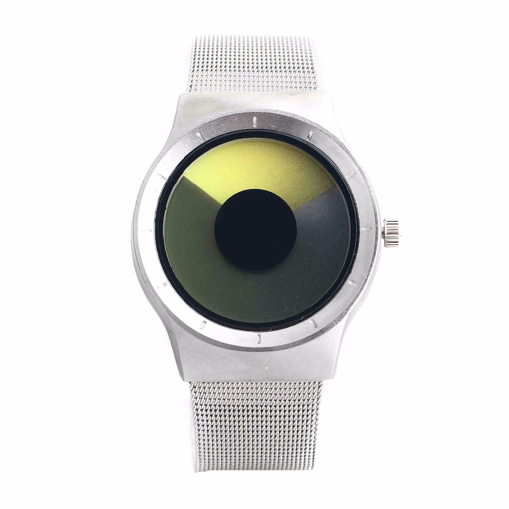 Hot Sale Fashion New Design Three-color Gradient Mesh Brand Watch For Lovers Aurora Starry Sky Quartz Mens Wristwatch Women<br><br>Aliexpress
