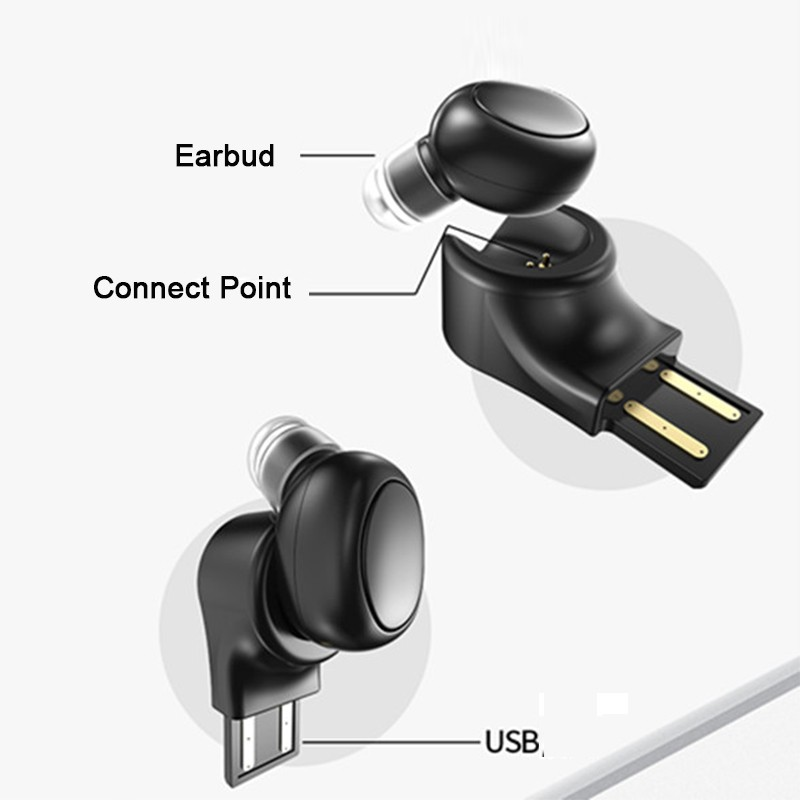 Mini Bluetooth Earphone Wireless Earbuds For Apple iPhone X 8 Plus 7 6S 6 SE 5S 5 4S 4 Invisible Small Mono Earphones Earpieces (12)