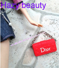 Hazy beauty Different styles for choose Doll accessories Fashion Bags handbags purse for Barbie FR 1:6 dolls BBI00789