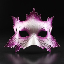 2017 Sexy Mask Maple Leaf Mask Full Face Venice Masks Cosplay Props Dance Party Halloween Party Supplies
