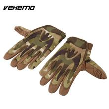 Vehemo Full Finger Leather Gloves Riding Labor Cars Repair Protective Cover Tools(China)