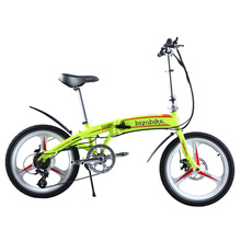 BIZOBIKE SPORT 20inch City Electric Folding Bike With 8Ah Lithium Battery 48V 250W Hub Motor