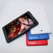 2G phone call tablet pc 7 inch MTK8312 Dual core Bluetooth Wifi 3000mAh Android 4.2 512M/4G Dual sim card slot GPS 800*480 GSM