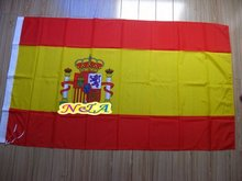 150 x 90 Spain flag free shipping(China)