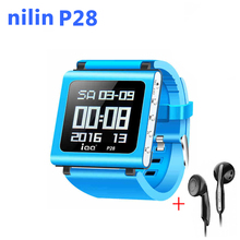 Watch mp3 player sport lossless recorder hifi music radio fm Support Micro TF Card Slot 32/64GB nilin P28 - FTD ConsumerElectronics Store store