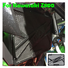 For Kawasaki Z800 2013 2014 2015 2016 2017 New Black Motorcycle Accessories Radiator Protective Cover Grill Guard Protector