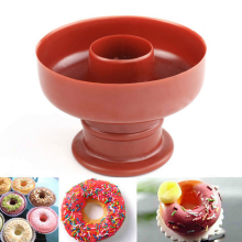 1 Pc Cake Bread Desserts Bakery Mould DIY Donuts Maker Mould Food Plastic Doughnuts Maker Cutter Fondant Pastry Tools