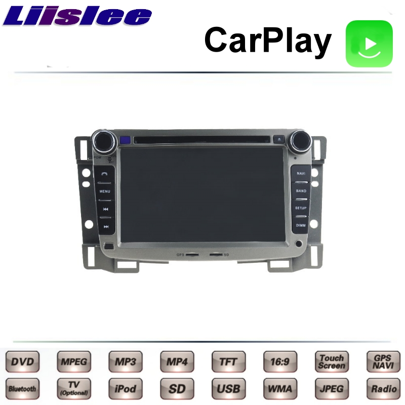 LiisLee For Chevrolet Sail 2014 2015 2016 2017 2018 Car Multimedia TV DVD GPS Radio Carplay Original Style Navigation Navi Front