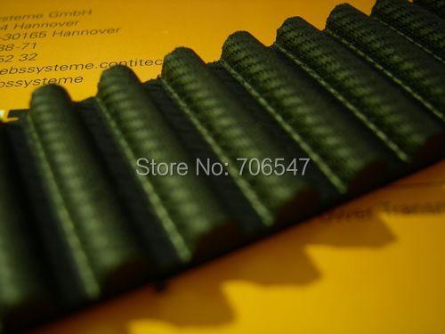Free Shipping 1pcs  HTD1344-8M-30  teeth 168 width 30mm length 1344mm HTD8M 1344 8M 30 Arc teeth Industrial  Rubber timing belt<br>