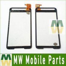 1PC  / Lot For HTC HD2 T8588 T8585 Touch Screen Digitizer Black Color