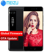 "Instock Meizu Pro 7 dual camera 4G LTE 4 GB 64 GB Octa Core Cellulare 5.2 ""1080 P Dual Screen Dual Posteriore 12.0MP colore nero(China)"
