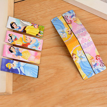 6 pcs/lot Cute Kawaii Princess Paper Book Marks Creative Magnetic Bookmark For Books Korean Stationery Free Shipping 3810