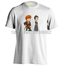 Outlander Jamie Fraser Poster Mens & Womens Cartoon Cute T Shirt