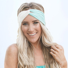 2017 New Hot Twist Turban Headband for Women Hair Accessories Stretch Hairbands Girls Headwear Headbands Head Wrap Band Bandana