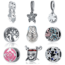 Jclowsexy Fashion Jewelry Silver Plated Bead Charm European Baby Doll Beads Diy Charms Fit Pandora Bracelets & Bangles