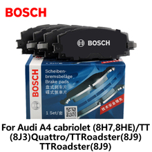 BOSCH car Front brake pads 0986AB1190 for Audi A4 cabriolet (8H7,8HE)/TT (8J3)Quattro/TTRoadster(8J9)/TTRoadster(8J9) auto part