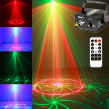 FREE DHL 20 sets/lot,Mini 3 Lens 24 Patterns LED Laser Stage Light  Professional Projector DJ Disco,5 years warranty