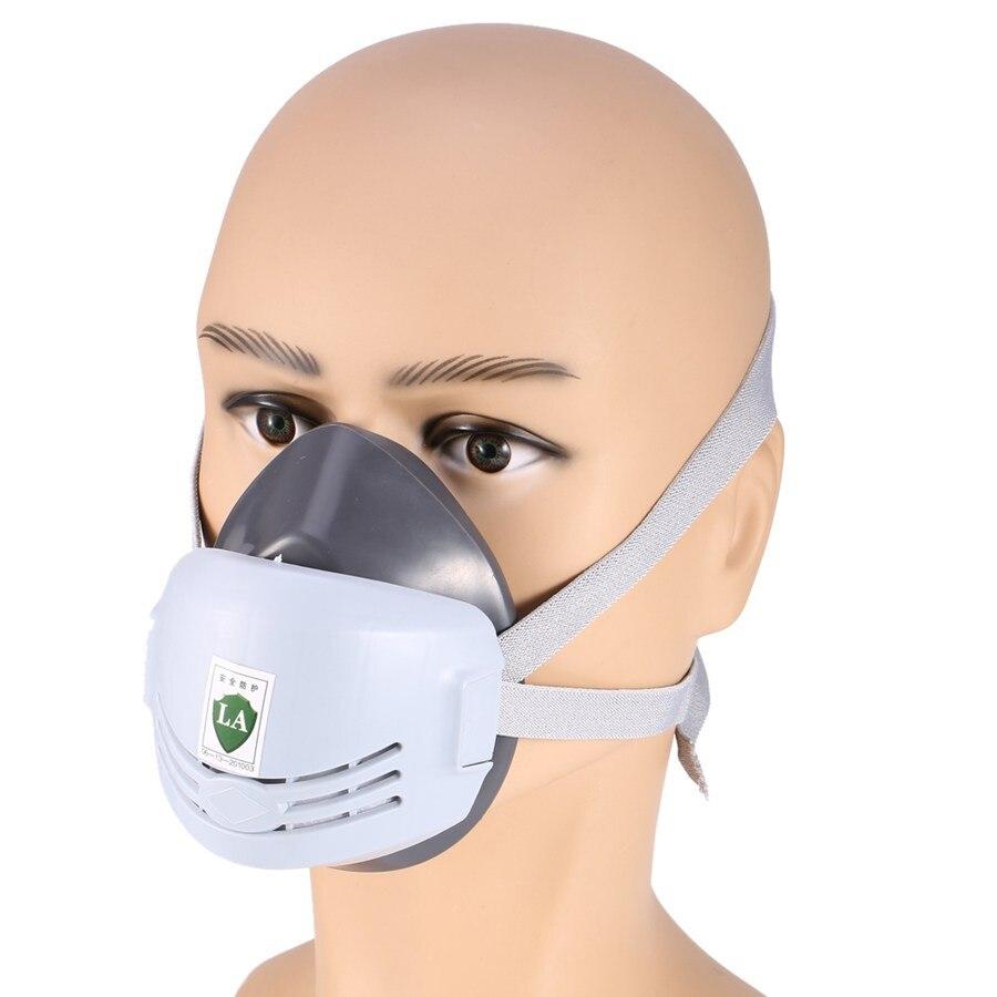 Mascarilla antipolvo y antigases soldadura de boca y nariz