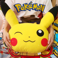 Original Special Pocket Monster Pikachu Cute Stuff Plush Pillow Toy Doll Cushion Children Birthday Gift Collection