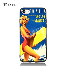 Qantas Australia Surfing Beauty Beach Sunshine Cool For iPhone 5s SE 6 6s 7 Plus Case TPU Phone Cases Cover Mobile Decor Gift