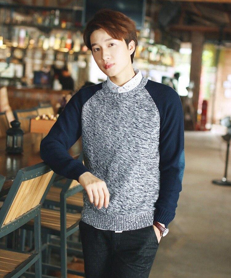 Hot Style Fashion Men Sweater Cotton Boy Cashmere ...