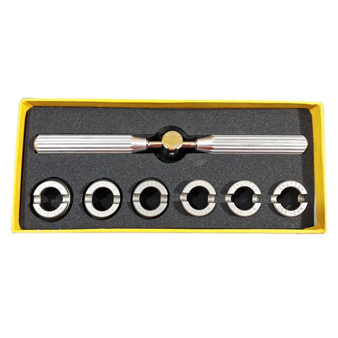 Shellhard High Quality 5537 Waterproof Watch Back Case Opener Closer Remover With Six Dies for Watchmaker Repair Tools Kit