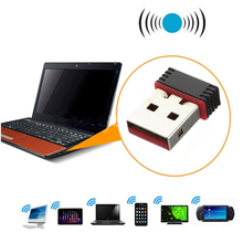 Universal High-Speed 150mbps Wireless Mini USB WiFi Adapter 802.11n/g/b LAN Network Card Internet LED Indicator(China)