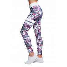 Sexcer Floral Printed Brand Yoga Pants Women High Waist Gym Fitness Leggings Push Womens Printing Sport Leggings Running Tights(China)