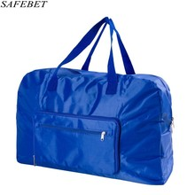 SAFEBET Brand Portable Waterproof Oxford High Capacity Travel Bags Luggage Handbag Packing Cubes Clothes Underwear Organiser(China)