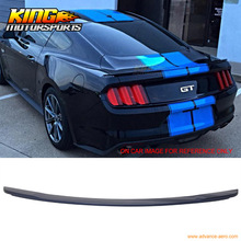 For 15-16 Ford Mustang GT Trunk Spoiler Painted Deep Impact Blue # J4(China)