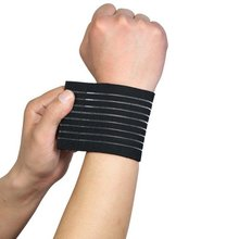 1PC Wrist Support Tape Elastic Breathable Wristband 4 Colors Wrist Protector Newest Black White Colors 2017