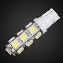 T10 13 X SMD 5050 W5W LED White Light Car RV Boat Parking Rear Lamp DC12V 2W 150LM 6000K The New Listing