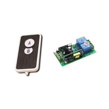 AC85V-250V 2CH RF Wireless Remote Control Switch Receiver Board & Transmitter Electrical Switch Power Switch High Quality(China)