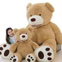 Cute Huge Size 160cm USA Giant Skin Teddy Bear Hull doll toys for kids christmas gift