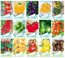15 KINDS 350+ TOMATO SEEDS Cherokee Purple Black Red Yellow Green Cherry Peach Pear Tomato Non-GMO Organic Food