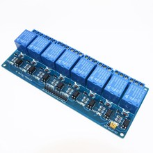 8 channel 8-channel relay control panel PLC relay 5V module for arduino hot sale in stock.8 road 5V Relay Module(China)