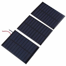 5V 160mA Polycrystalline Solar Panel Charger Charging Battery Mini Polysilicon Solar Epoxy Plate Battery For Boat Outdoor
