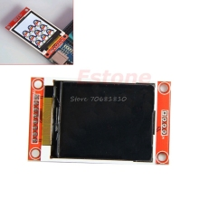 "1.8"" Serial 128X160 SPI TFT LCD Module Display + PCB Adapter Power IC SD Socket -R179 Drop Shipping"