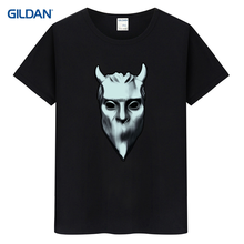 men's tee shirt 2017 nameless ghouls t shirt top ghost swedish heavy metal band music sweden humorous t shirt guys t-shirt(China)