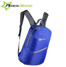 ROCKBROS Cycling Waterproof Bicycle Sports Bags Ultralight Bike Backpack Bag Breathable Portable Folding Backpack Bag