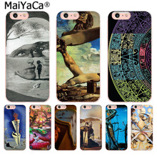 Buy MaiYaCa Salvador Dali Clear Cell Fashion Fun Dynamic phone case Apple iPhone 8 7 6 6S Plus X 5 5S SE 5C 4 4S Mobile Cover for $1.29 in AliExpress store