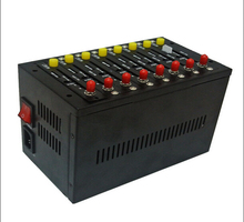 8 card slots Industrial GSM multi sim Modem Pool Q2303 USSD STK recharge system bulk sms software(China)