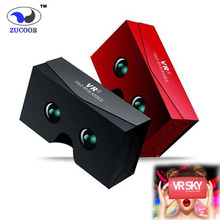 3D Google Cardboard VR Glasses Virtual Reality Box Goggles 3D Viewing Binocular Glasses for 4.0-6.0 inch Android iOS Smartphone