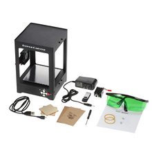 cnc engraving machine K2 1000mW Automatic DIY Print laser engraver Carver mini USB Engraving Machine Off-line Operation(China)