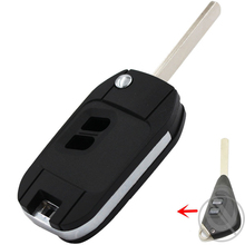 Replacement Shell Modified Folding Remote Key Case Fob 2 Buttons For Subaru Legacy Forester Outback Impreza(China)