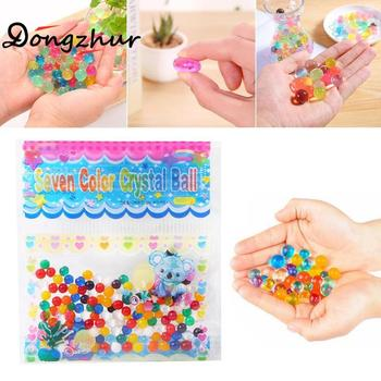 Dongzhur 1 Bag 2.5mm Water Ball Crystal Pearls Jelly Gel