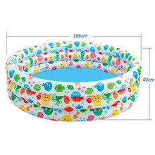 High quality color spots pool for children outdoor inflatable swimming pool xx118(China)