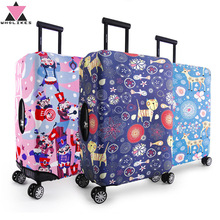 Luggage Suitcase Protective Cover Trolley Case Thicken Dust Covers High Quality Elasticity Travel Box Sets(18-30Inch)